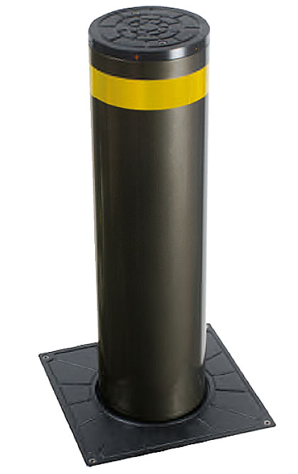 AMP 1000 200mm diameter bollard With optional LED lights