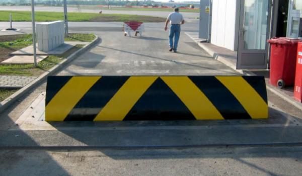 Security Road Blocker at municipal site
