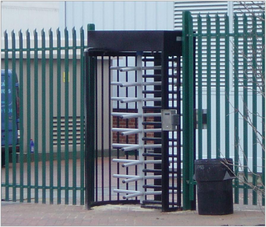 Full height turnstiles aps aegis security systems
