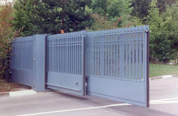 Telescopic Sliding Gates Aps Aegis Security Gates Uk Based
