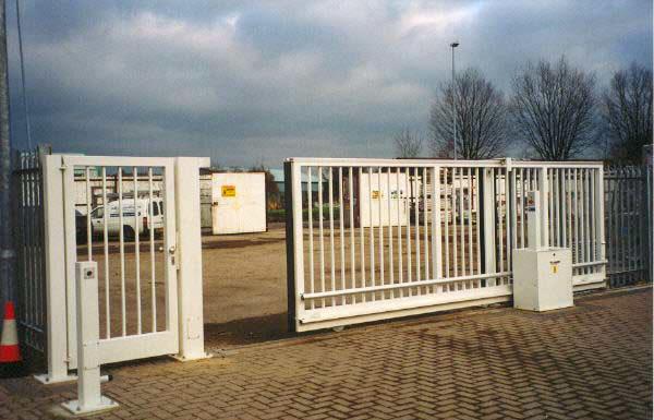 Tracked Sliding Gate